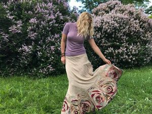 Как сшить лоскутную юбку из дикого шелка. Часть 2 | Ярмарка Мастеров - ручная работа, handmade