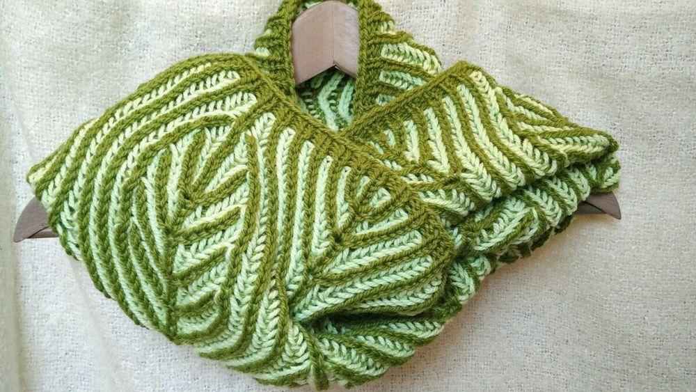 бриошь, вязание, мастер класс по вязанию, мастер класс в москве, двухцветное вязание, снуд, палантин
