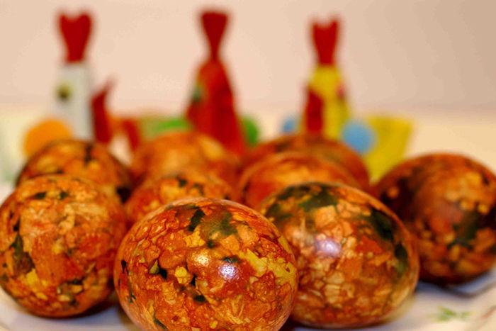 пасхальные яйца, интерьер