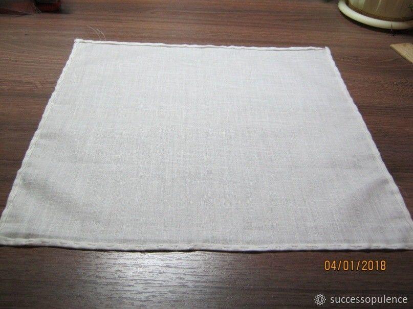 Making Handkerchiefs with Tatting Lace, фото № 7