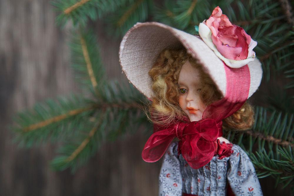 Дополнительные фотографии куклы ручной работы Софии., фото № 4