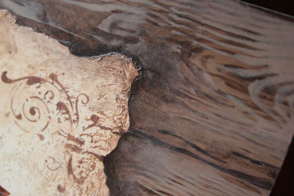 Мастер-класс из серии «Настенные техники»: два в одном – имитация дерева и фрески, фото № 2