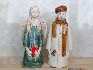 Керамические люди | Ярмарка Мастеров - ручная работа, handmade