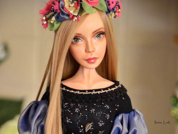 Кукла для декора интерьера | Ярмарка Мастеров - ручная работа, handmade