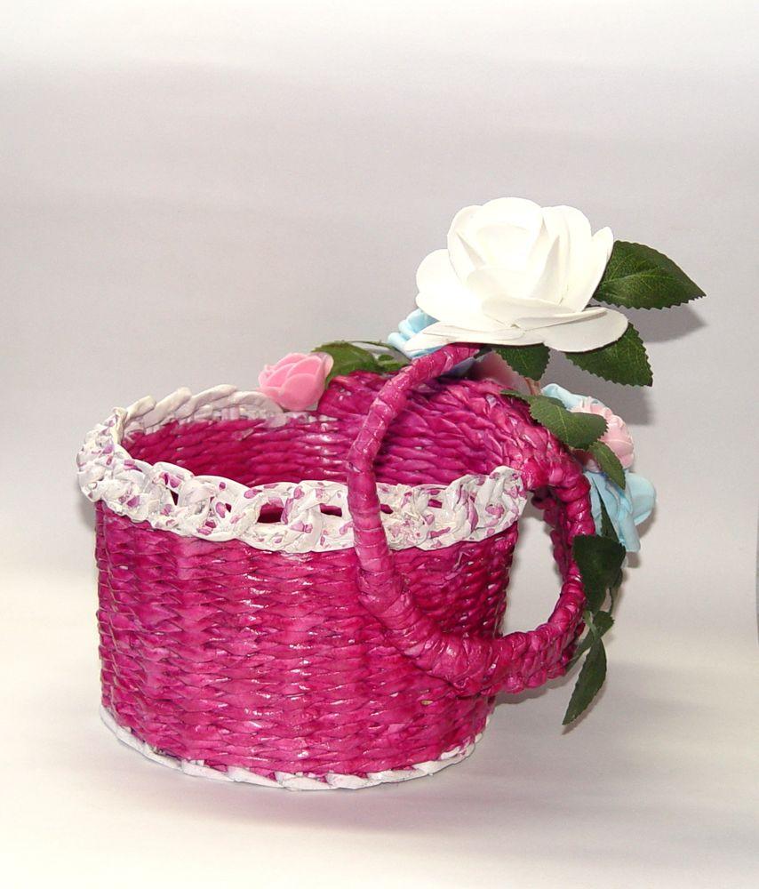 корзинка цветочная