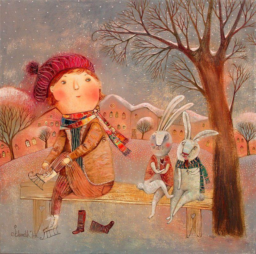 Сказка и фантазия в работах современной художницы Анны Силивончик