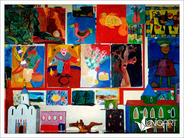 занятия для детей, арт-терапия, радость творчества, обучение