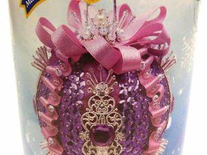 Новинка в магазине: набор для творчества  «Новогодний шар»  из пайеток. Ярмарка Мастеров - ручная работа, handmade.