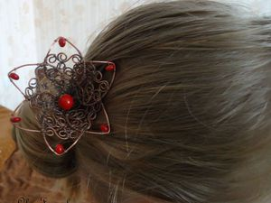 Вот и у меня есть шпилька))) | Ярмарка Мастеров - ручная работа, handmade