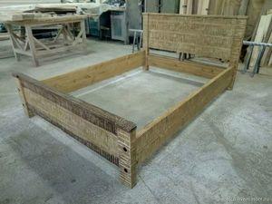 Кровать из натурального дерева в наличии, цена 30.000 руб.. Ярмарка Мастеров - ручная работа, handmade.
