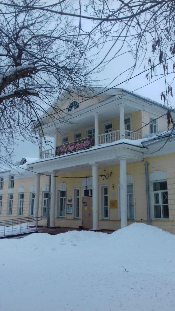 блог, старинный стиль, снегопад