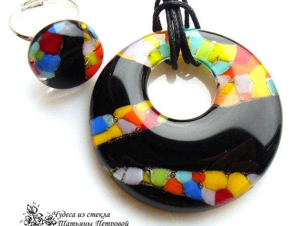 Коллекция украшений из стекла. | Ярмарка Мастеров - ручная работа, handmade