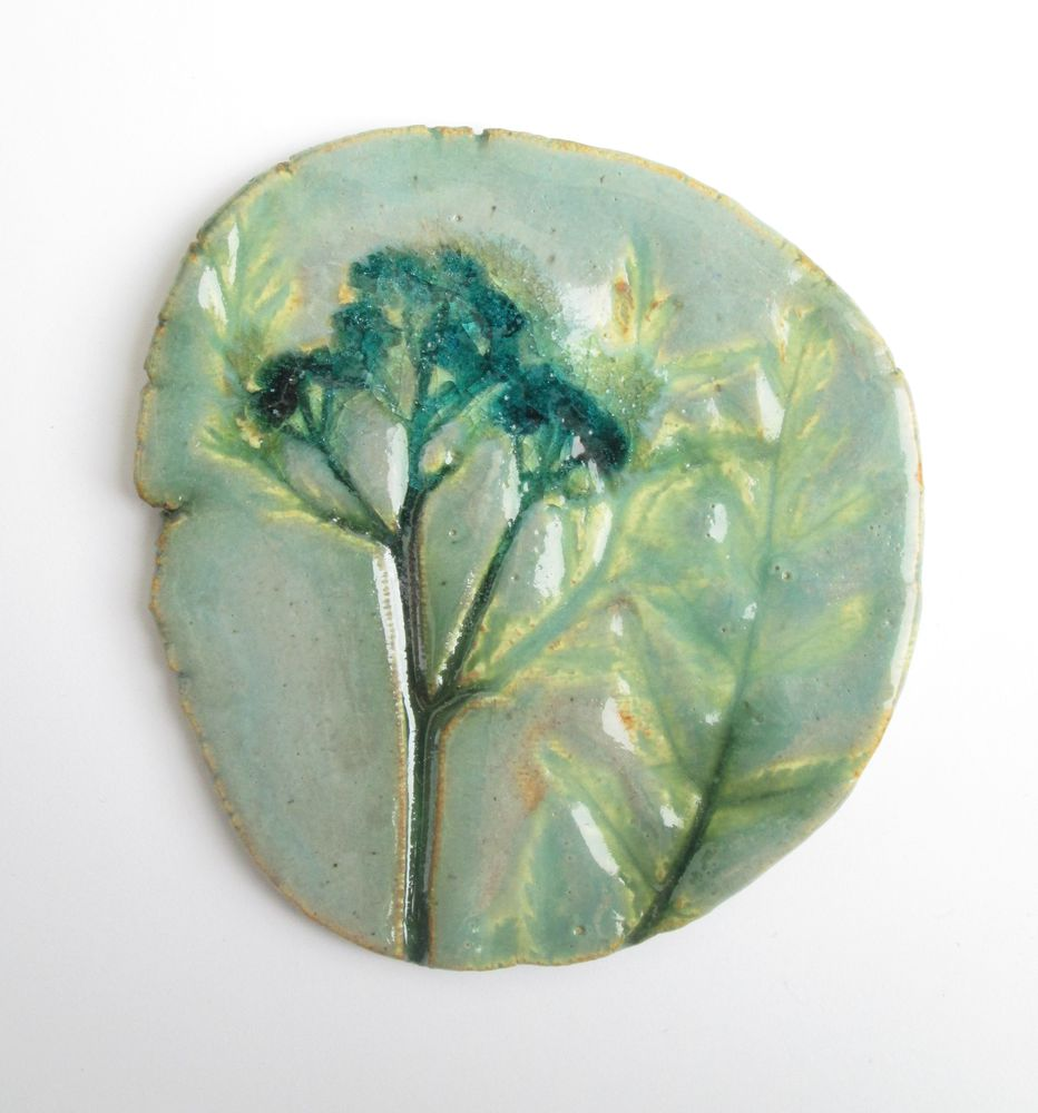 броши из керамики