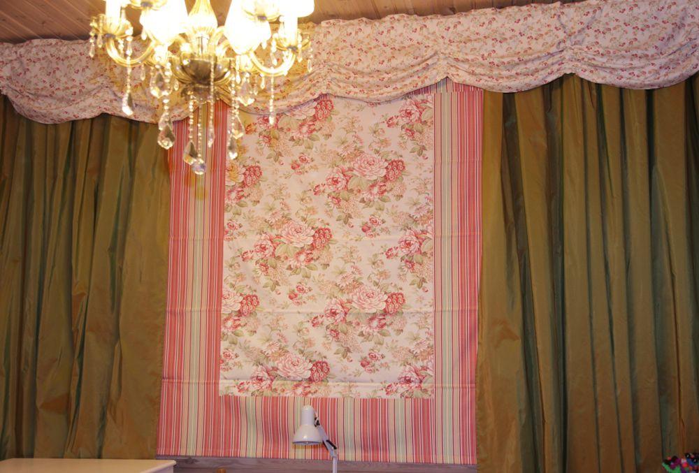 шторы, ткань, цветочный принт, подарок
