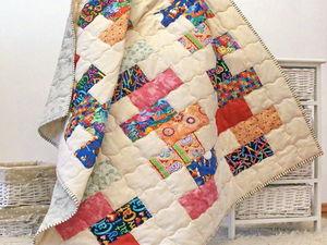 Всего два дня детское одеяло по детской цене. Ярмарка Мастеров - ручная работа, handmade.