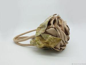Марафон больших скидок - 3 день (кожаные сумки-розы). Ярмарка Мастеров - ручная работа, handmade.