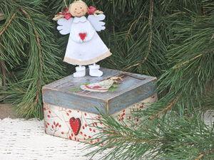 Зимние чудеса или готовь сани летом. Ярмарка Мастеров - ручная работа, handmade.