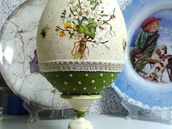 Новинка! «Пасхальный Сувенир» декоративное яйцо на подставке! | Ярмарка Мастеров - ручная работа, handmade