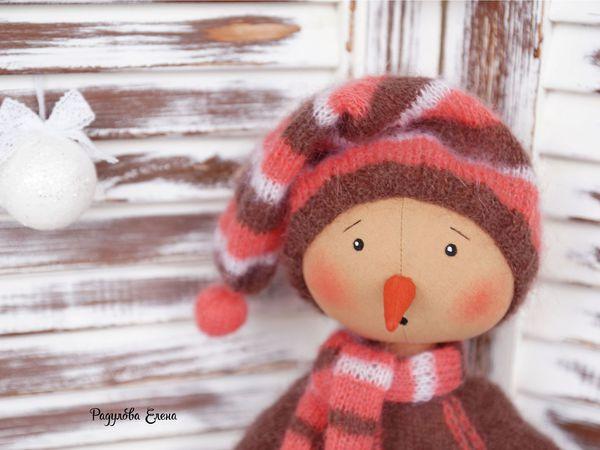Карамельный Снеговичок появился в магазине)))   Ярмарка Мастеров - ручная работа, handmade