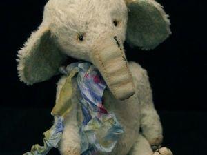 Скидка 30% на слоника. Ярмарка Мастеров - ручная работа, handmade.