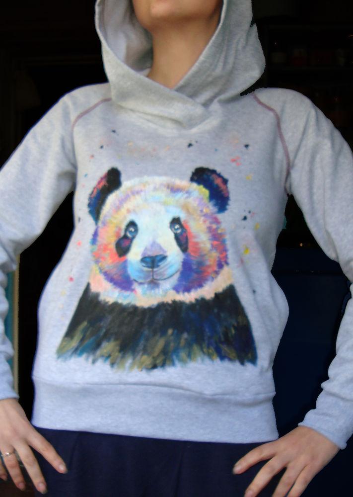 футболка с пандой, купить недорого