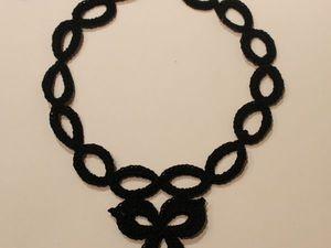Вяжем оригинальное украшение на шею. Ярмарка Мастеров - ручная работа, handmade.