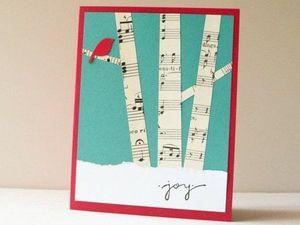 Я его слепила из того, что было, или Новогодние открытки из того, что завалялось. Ярмарка Мастеров - ручная работа, handmade.