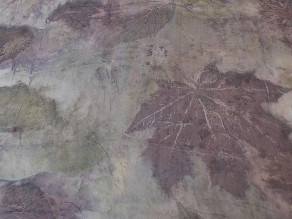 Окрашивание листьями. Бесплатный вебинар | Ярмарка Мастеров - ручная работа, handmade