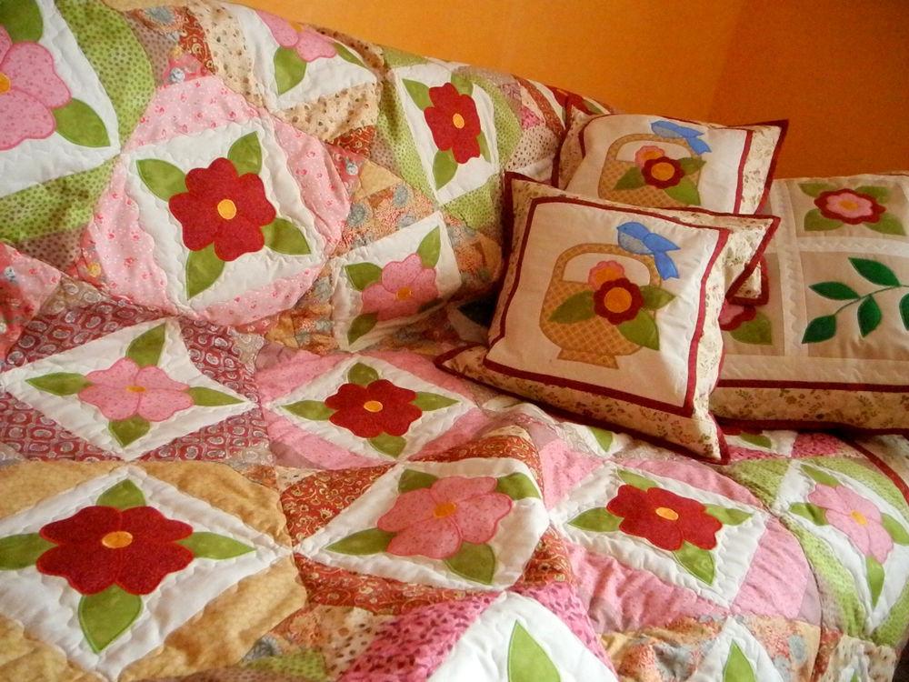 купить лоскутное одеяло, пэчворк покрывало