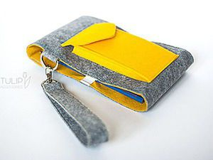 Colourful Felt Pencil Case With Your Own Hands. Livemaster - handmade