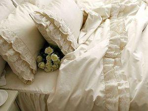 Акция -20%! Кружевное постельное белье в стиле шебби шик! Принимаем заказы   Ярмарка Мастеров - ручная работа, handmade