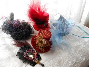 О шляпках. Ярмарка Мастеров - ручная работа, handmade.