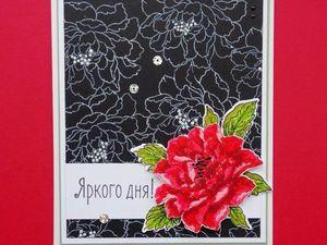 Новинка - Черная бумага, 160 г. Ярмарка Мастеров - ручная работа, handmade.