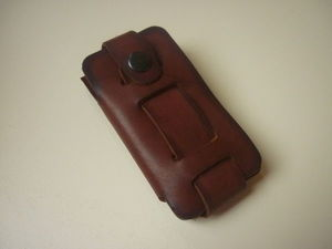Кожаный чехол для телефона. Ярмарка Мастеров - ручная работа, handmade.