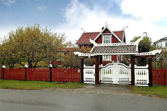 Dragon Style House in Frederikstad, Norway