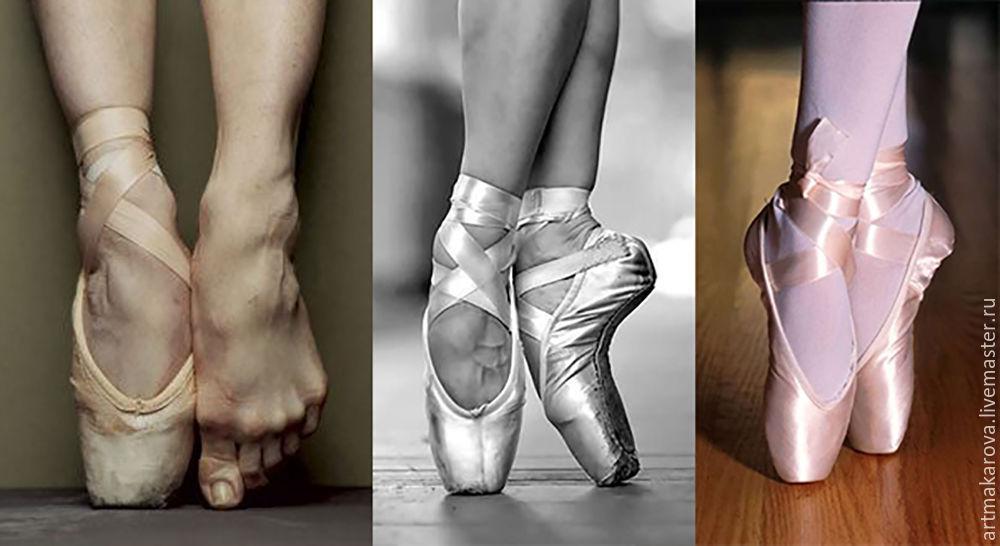 а-ля прима, холст, балерина, фиолетовый