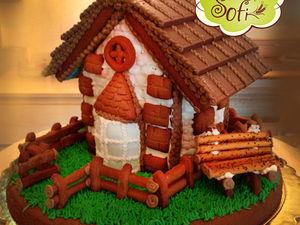 Пряничный домик  своими руками за 2 часа | Ярмарка Мастеров - ручная работа, handmade