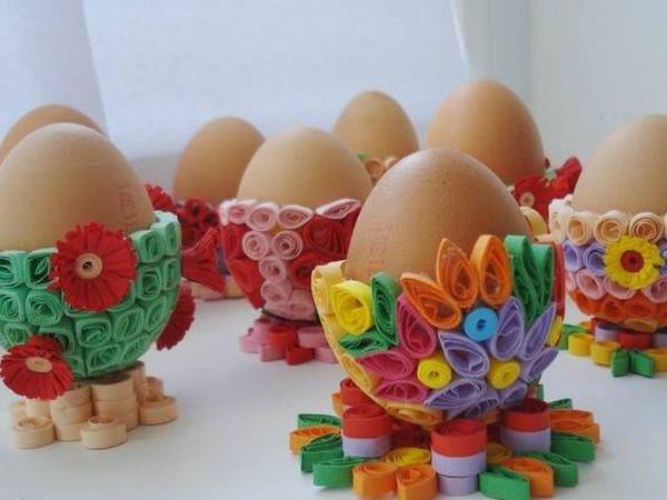 Скрапбукинг, квиллинг для начинающих. Скрапбукинг для начинающих. Готовимся к Пасхе - делаем подставку для Пасхальных яиц. | Ярмарка Мастеров - ручная работа, handmade