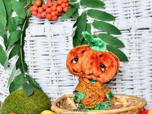 Мастер-класс: «Тётушка Тыква Осенняя». Ярмарка Мастеров - ручная работа, handmade.