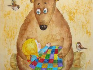 Маша и Медведь. Ярмарка Мастеров - ручная работа, handmade.