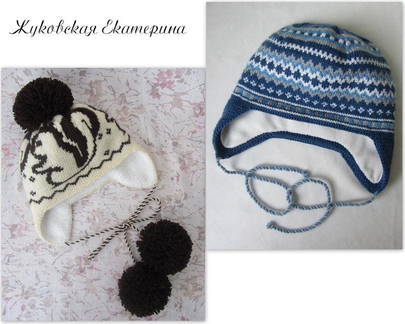 Вяжем шапочку с ушками - Ярмарка Мастеров - ручная работа, handmade