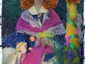 Куклы-игрушки с душой и для души | Ярмарка Мастеров - ручная работа, handmade