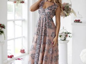 Аукцион на Потрясающей красоты вечернее платье!! Старт 4000 руб.!. Ярмарка Мастеров - ручная работа, handmade.