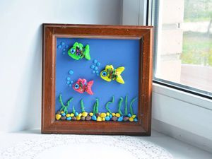 Делаем удивительный подводный мир из соленого теста. Ярмарка Мастеров - ручная работа, handmade.