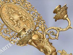 Раритетище Подсвечник бронза латунь Франция 50. Ярмарка Мастеров - ручная работа, handmade.