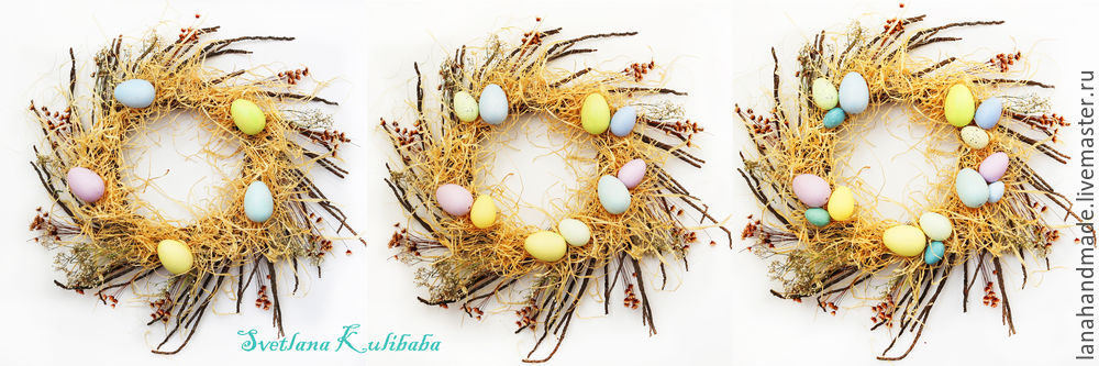 Create an Easter Wreath with Your Own Hands!, фото № 8