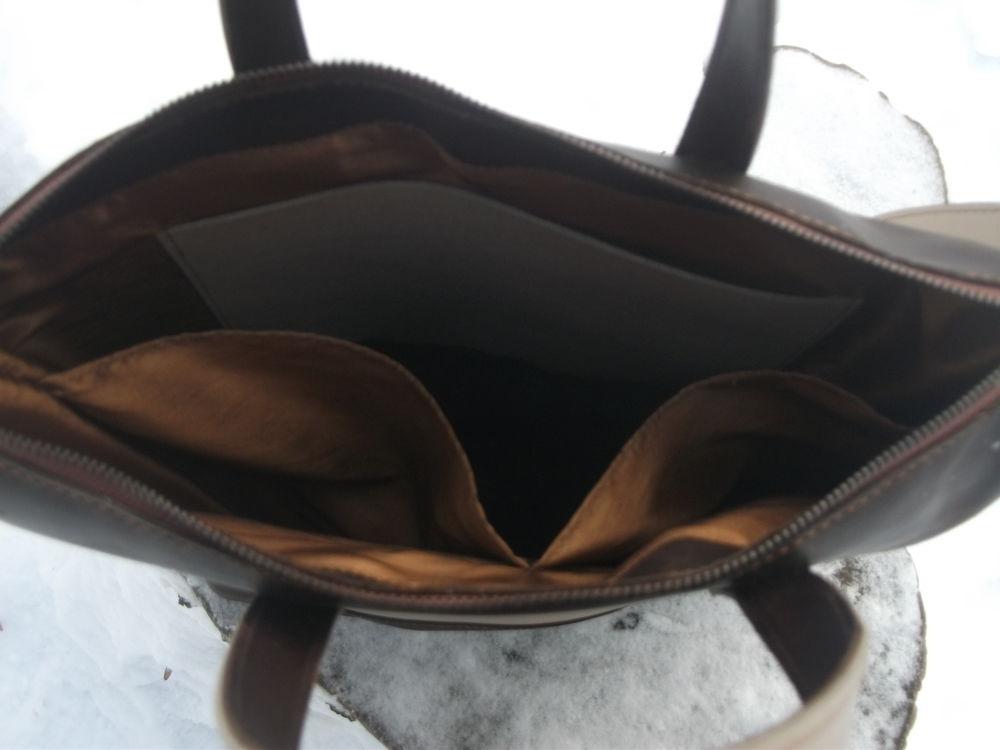 сумка кожаная