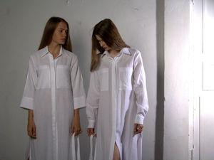 Какими достоинствами может обладать платье-рубашка? | Ярмарка Мастеров - ручная работа, handmade