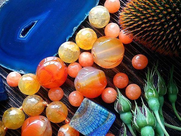 Все краски осени в JuicyBeads | Ярмарка Мастеров - ручная работа, handmade