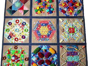 Новая работа - массажно - развивающий коврик - трансформер. | Ярмарка Мастеров - ручная работа, handmade